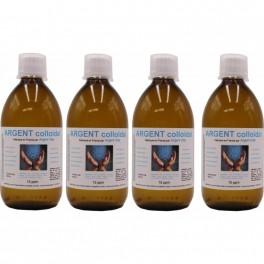 Argent Vital - Pack de 4 flacons de 500 ml