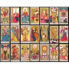 Le Tarot et les 22 étapes de la Conscience